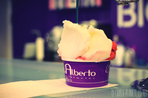 gelato, rue mouffetard, paris