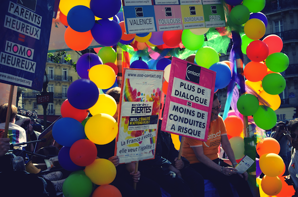 Gay Pride Paris, Paris, Marché des fiertés