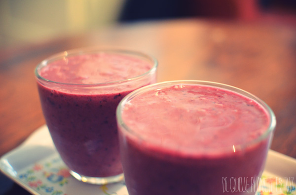 Smoothie, Raspberry, A la maison
