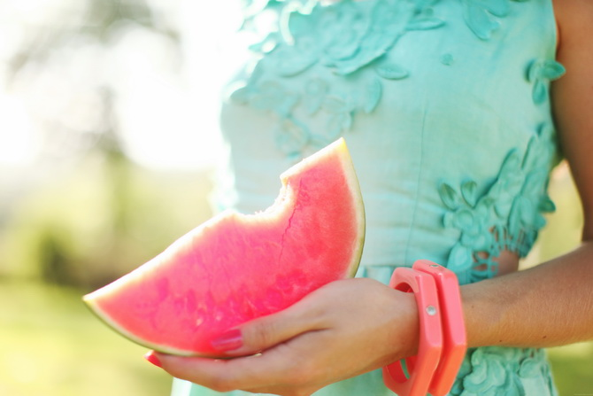 Watermelon via Cherry Blossom Girl