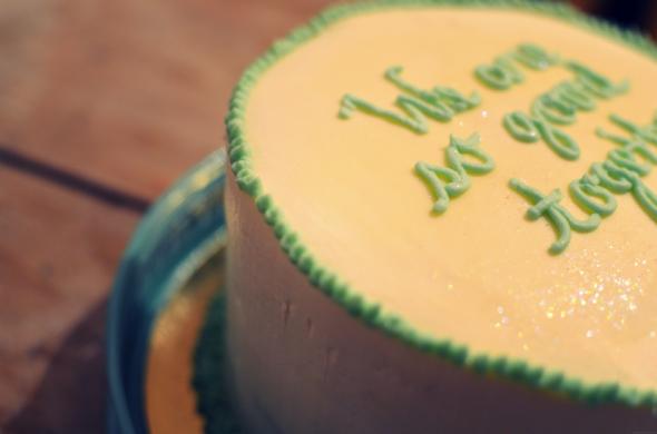 Anniversary cake by Sugar Daze - De quelle planète es-tu?