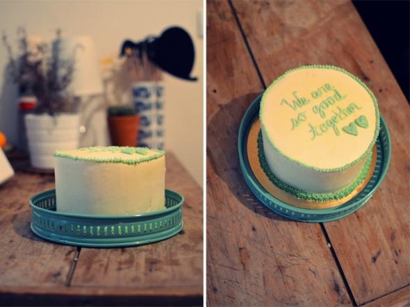 Anniversary cake by Sugar Daze - de quelle planete es tu?